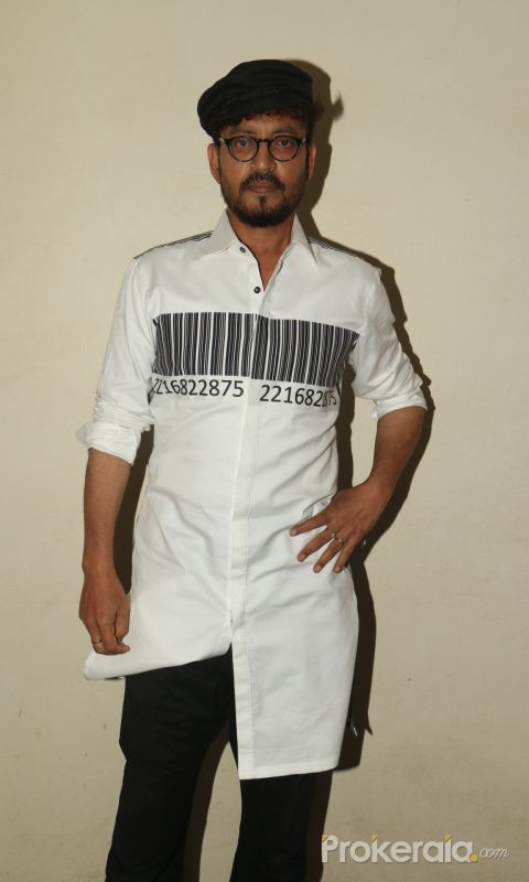 Irrfan Khan Spotted At Fun Republic For The Interview