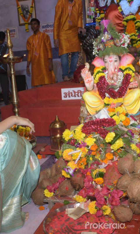 Kangana Ranaut at Andhericha Raja