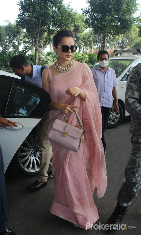 Kangana Ranaut Spotted At Airport Departure