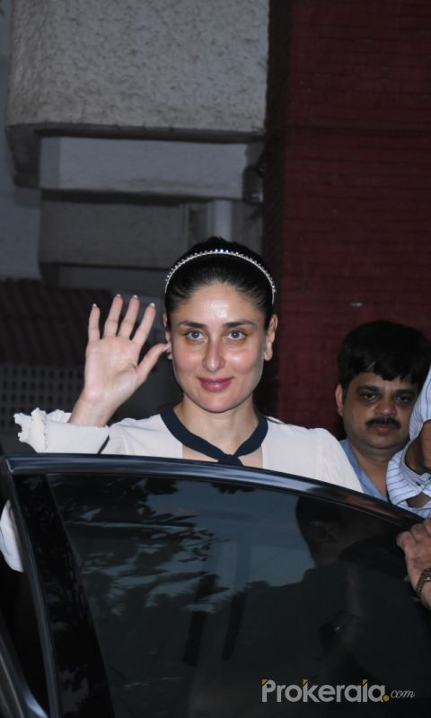 Kareena Kapoor seen at bandra