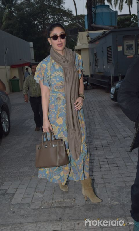 Actress Kareena kapoor spotted at pvr juhu.