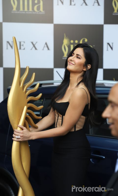 Actress Katrina Kaif aT 21st edition of NEXA IIFA weekend  awards 2020