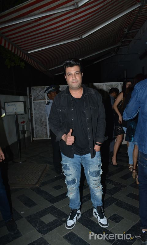 Krystle D'Souza birthday party at Bandra project