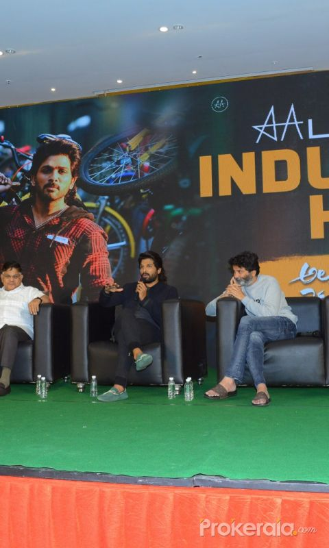 Movie Ala Vaikunthapurramuloo Success Meet Photo