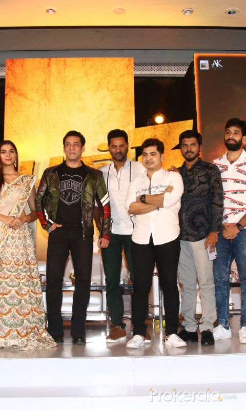 Movie Dabangg3 Press Meet Event Photo.
