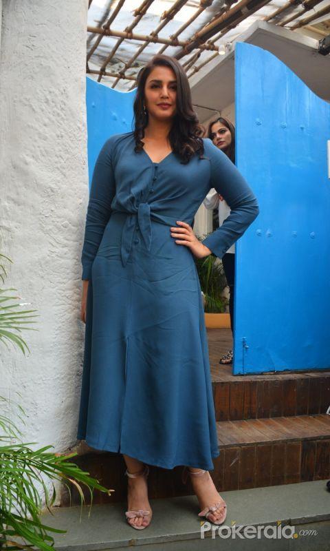 Neha Dhupia's c At Olive In Bandra