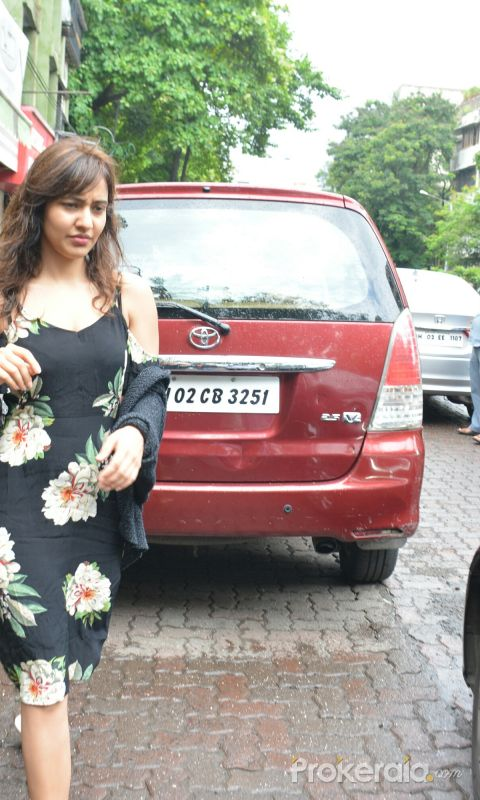Neha Sharma spotted at bandra