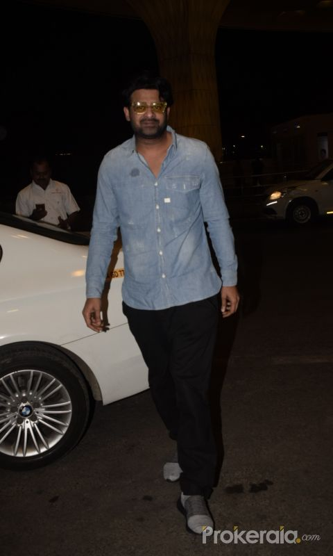 Prabhas Spotted At Airport
