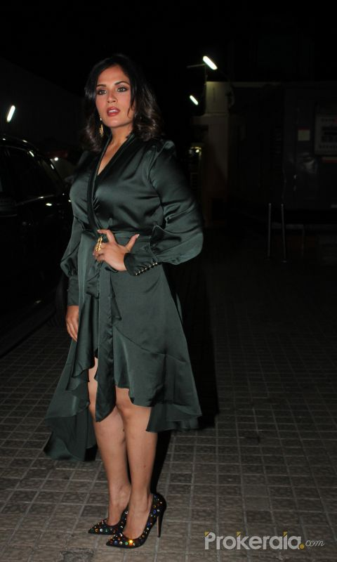 Actress Richa Chadda at the Promotion site of Movie Panga