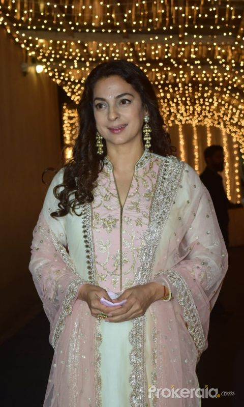 Juhi Chawla join Priyank Sharma Pre-Wedding Party