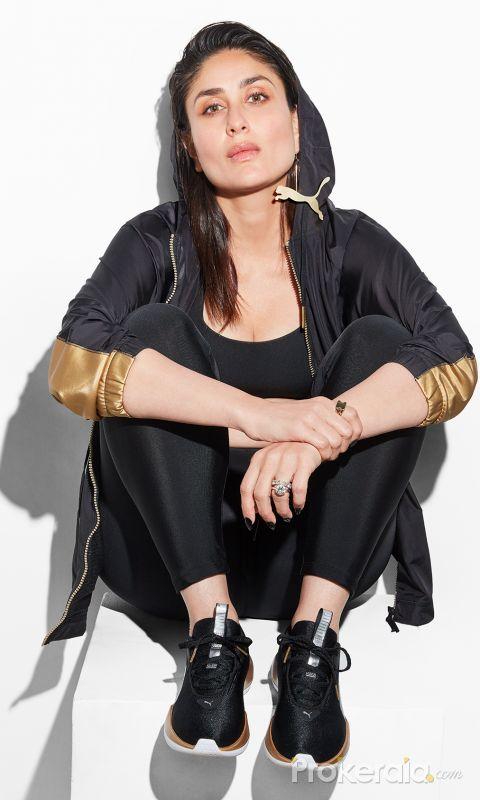 PUMA anounced actress Kareena Kapoor become their new brand ambassador