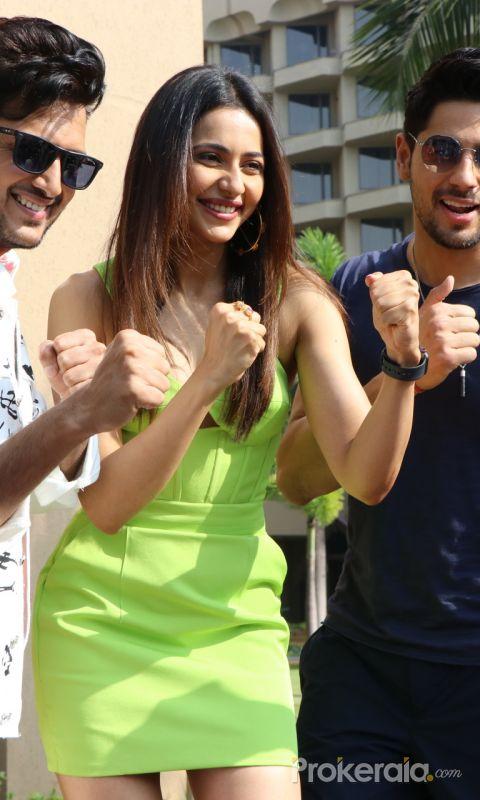 Rakul Preet Singh, Sidharth Malhotra, Riteish Deshmukh Promotion Of their Movie Marjaavaan