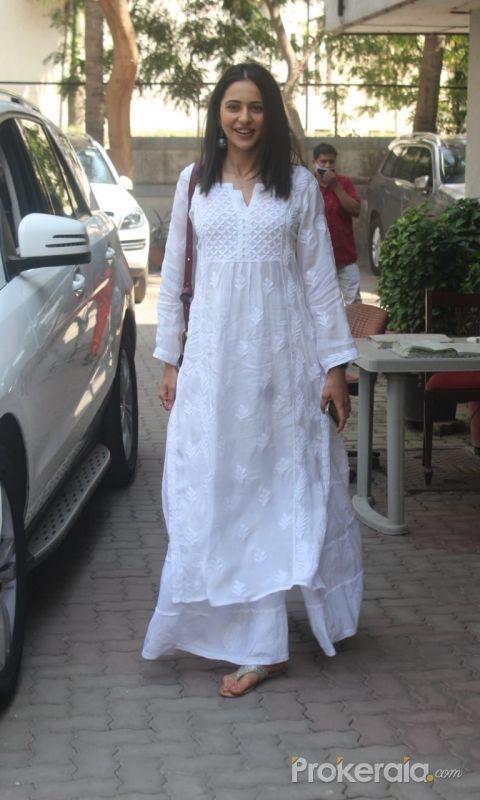 Rakul Preet Singh Spotted In Andheri