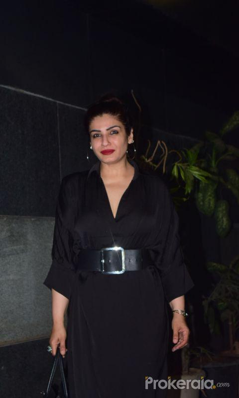 Raveena Tandon Spotted At Bandra
