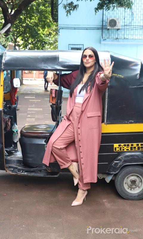 Actress Neha Dhupia poses during the shoot of NoFilterNeha Season 4 -1
