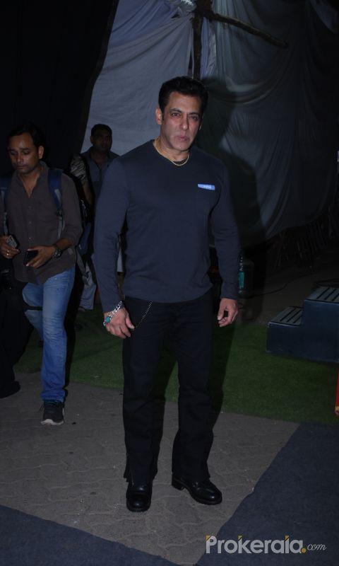 Actor Salman Khan during success meet of film Dabangg3 at Mehboob Studio in bandra.