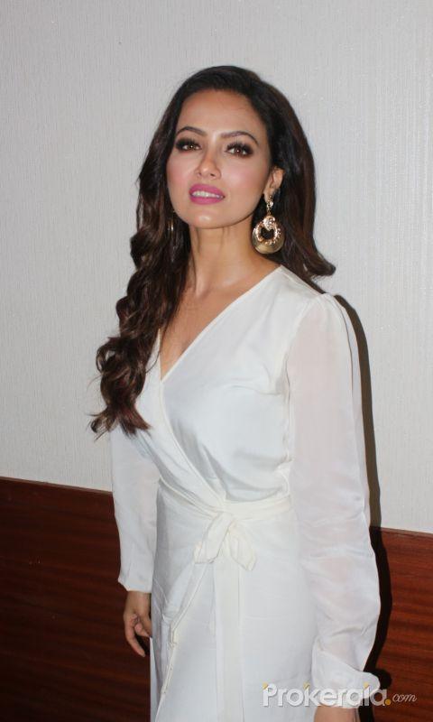 Sana Khan At Launch Of Kay Anat Khan Debut Single
