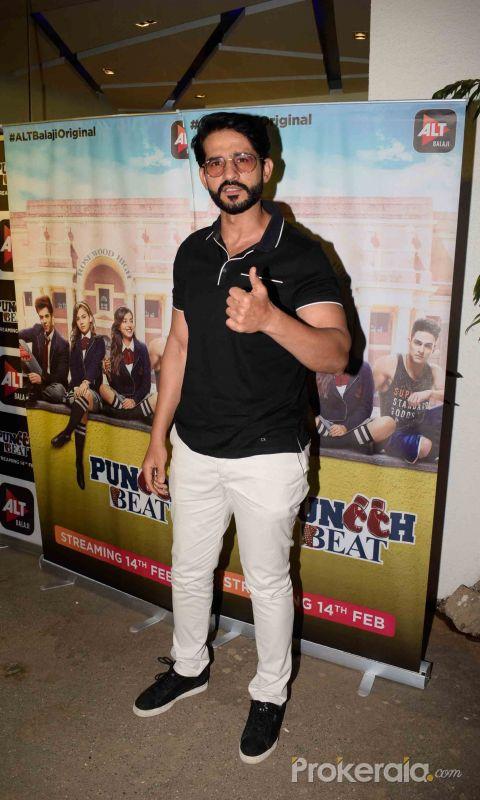 Screening of Alt Balaji's new web series Punch Beat at Sunny sound juhu