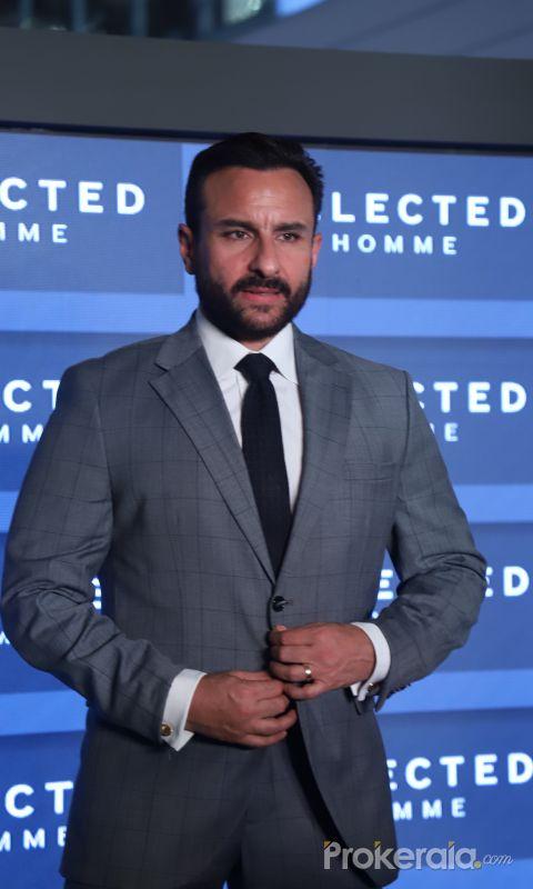 Selected Homme announced Saif Ali Khan as Brand Ambassador