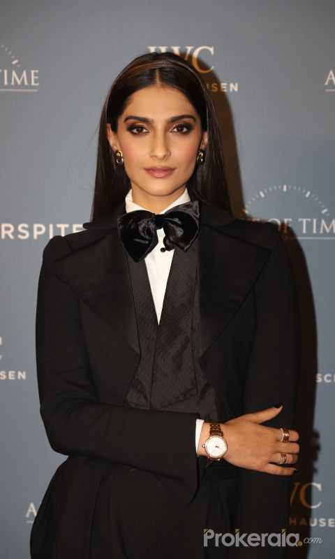 Sonam Kapoor at the launch of IWC Schaffhausen watches at Soho House juhu
