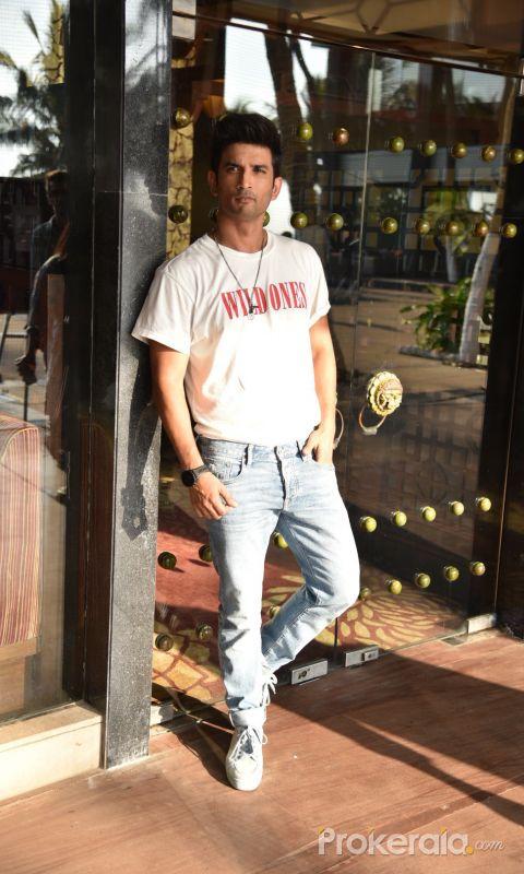 Sonchirriya Starcast Spotted At Interviews