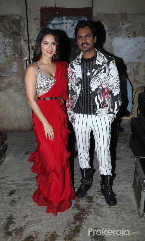 Sunny leon AND Nawazuddin Siddiqui new photo