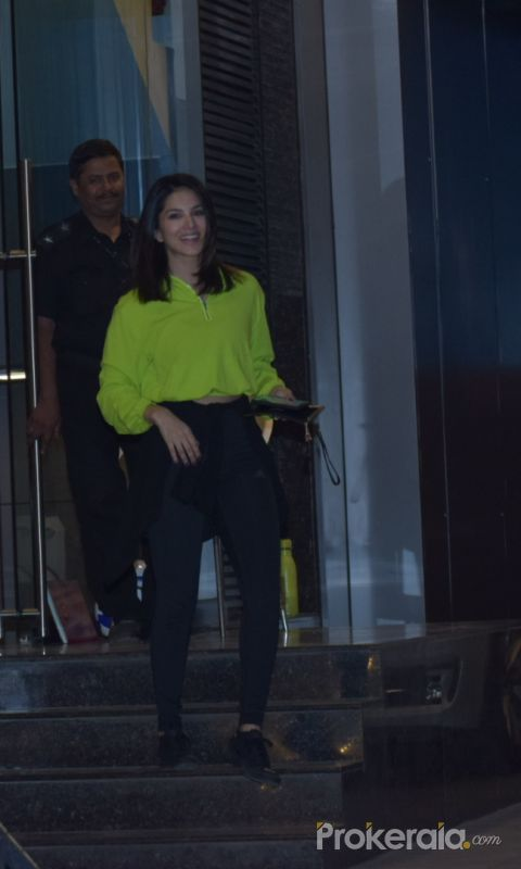 Sunny Leone with kids spotted at juhu