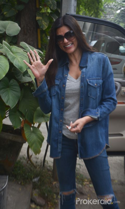 Sushmita Sen Spotted At Bandra