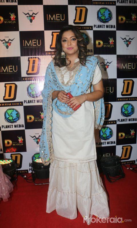 Tanushree Dutta at Celebrity Dream Dandia