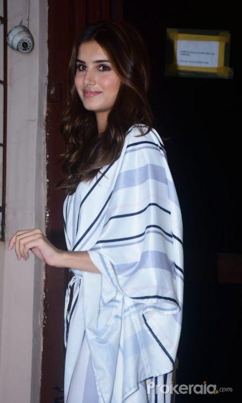Tara Sutariya spotted at Dabbing studio Bandra