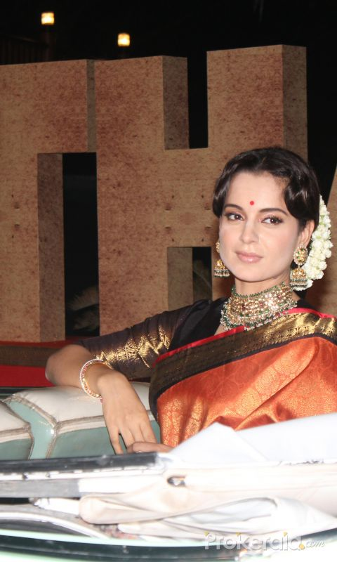 Kangana Ranaut join Trailer Launch Of Film Thalaivi
