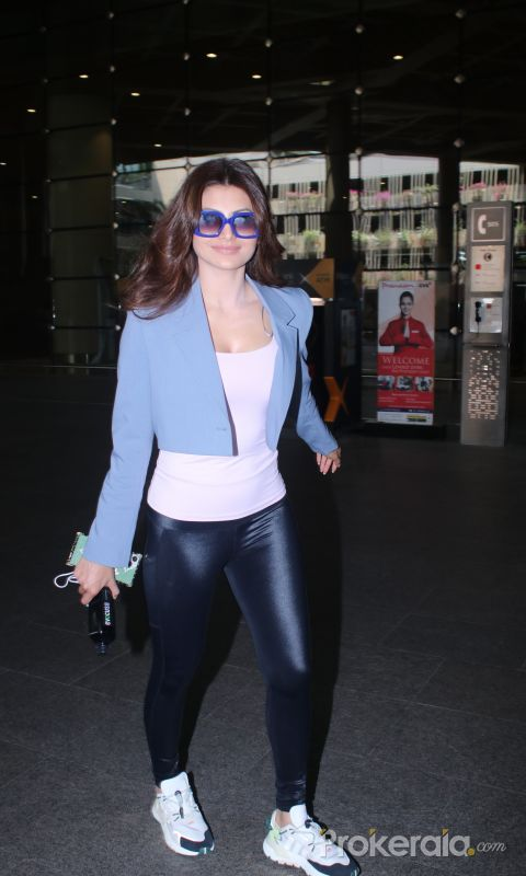 Urvashi Rautela Spotted At Airport Arrival