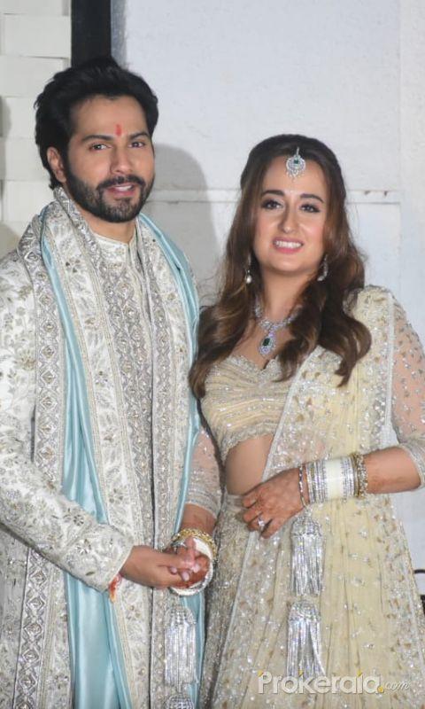 Varun Dhawan With Natasha Dalal First Visual After Marriage In Alibaug