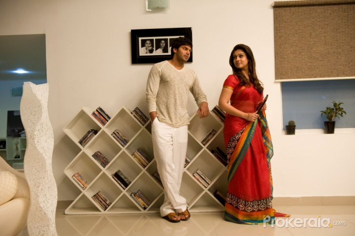 Nayanthara and Arya in Raja Rani