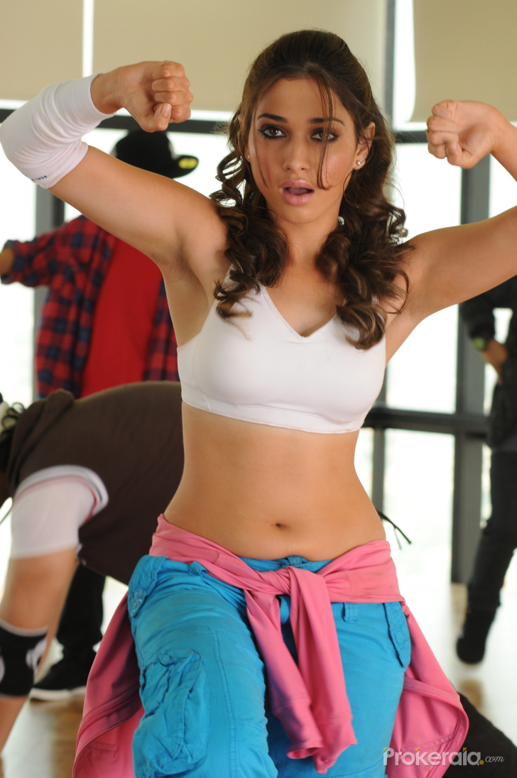 Tammanna In Rebel Tamanna Hot Wallpapers From Rebel Movie