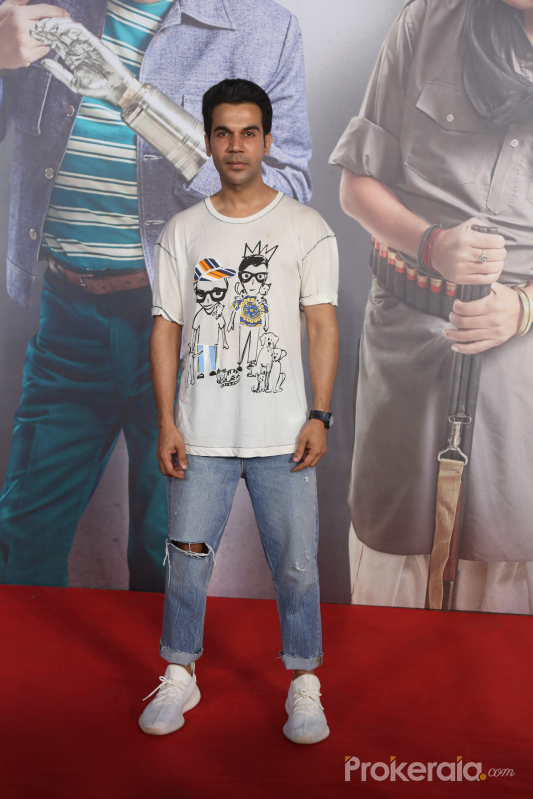 Actor Rajkumar Rao Screening of film Kaamyaab at pvr ecx in andheri