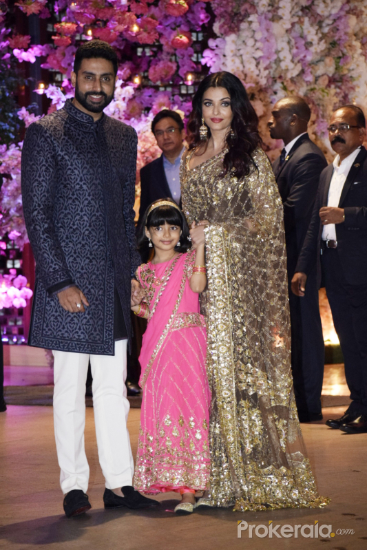 Aakash Ambani and  Shloka Mehta engagement