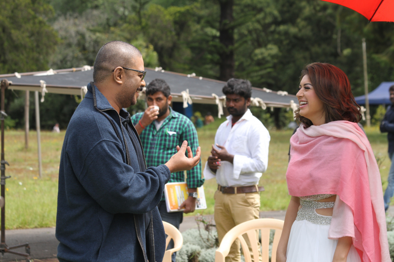 Aambala movie shooting stills