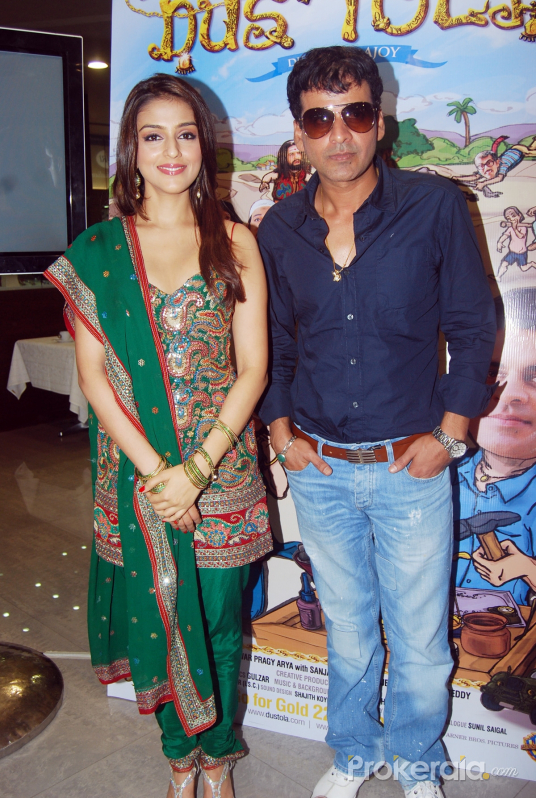 Aarti Chhabria and Manoj Bajpayee