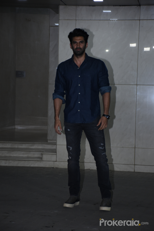 Actor Aditya Roy Kapoor at  Salman Khan birthday party.