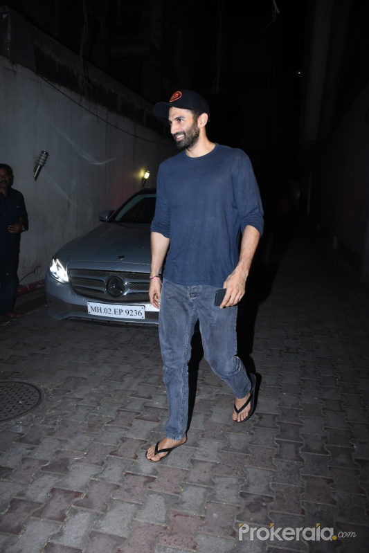 Actor Aditya Roy Kapur seen at Vishesh films office in bandra