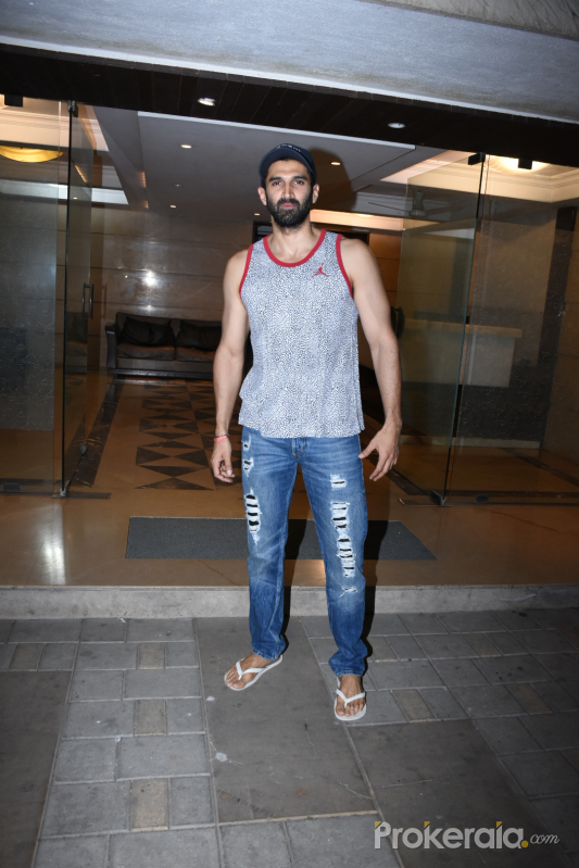 Actor Aditya Roy Kapur seen at his home in bandra