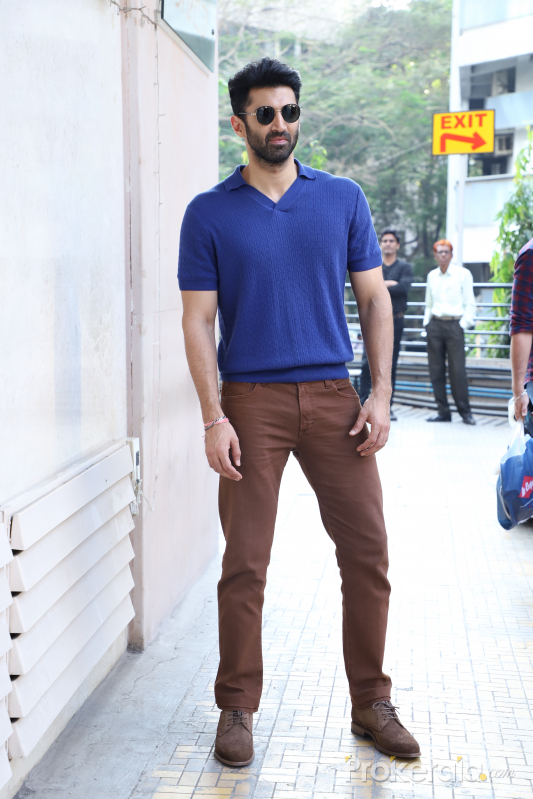 Actor Aditya Roy Kapur spotted at andheri