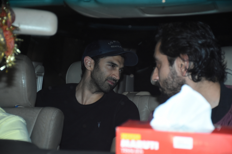Actor Adiya Roy Kapur Arrived for Siddharth Malhotra birthday party.