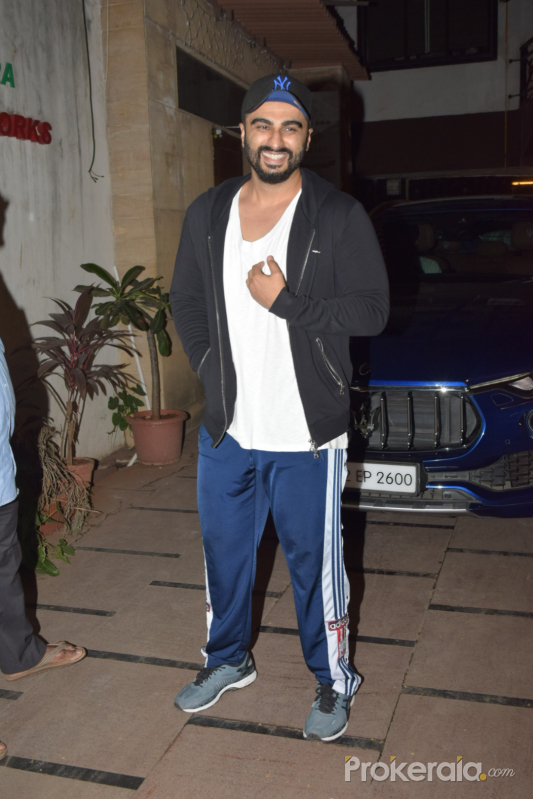 Actor Arjun Kapoor seen at juhu.