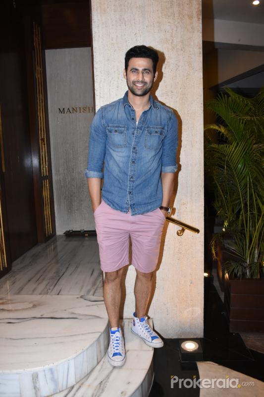 Actor Freddie Daruwala spotted at Manish Malhotra's house in bandra