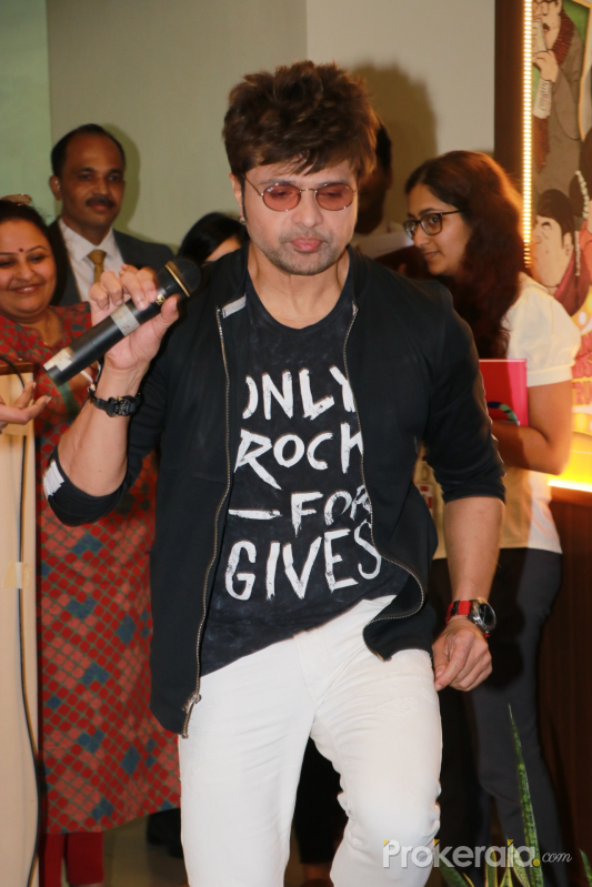 Actor Himesh Reshammiya at the Launch Of Season 7 Of Its Esteemed Property Big Golden Voice