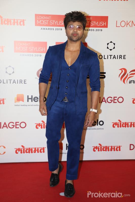 Actor Himesh Reshammiya During the Star Studded 4th Edition Of Lokmat Most Stylish Awards