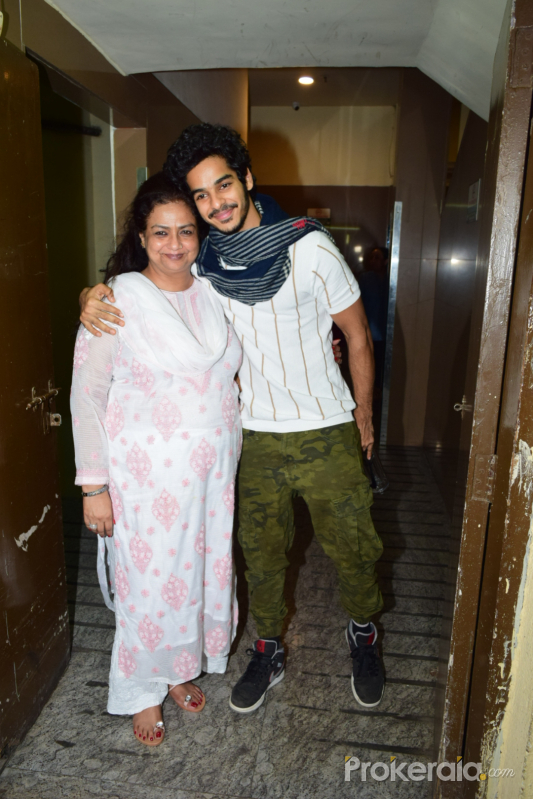 Actor Ishaan Khattar seen at pvr juhu