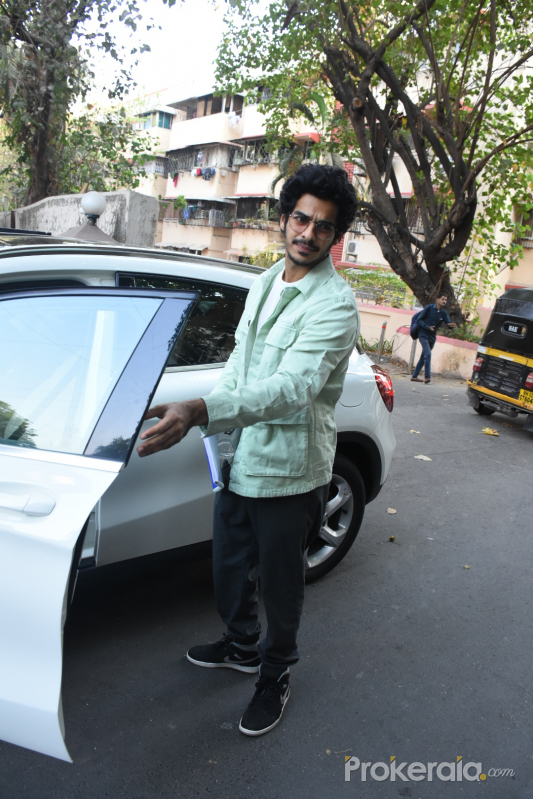 Actor Ishaan Khattar spotted at Bandra